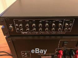 Sansui C-77 Préampli & B-77 Amplificateur