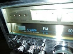Sansui G 33000 Amplificateur Avec Un G 22000 Preamp