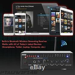 Son Autour Pyle Wifi Amplificateur Stéréo Récepteur Audio Professional Home Cinéma