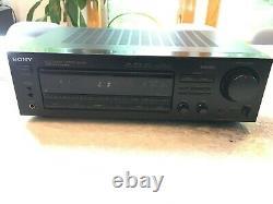 Sony Str-d565 Récepteur Stéréo Audio/vidéo/amplificateur Noir Avec Entrée De Pré-ampli Phono