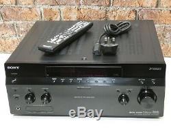 Sony Str-da1200es Dolby 7.1 Canaux 2 Entrée Hdmi Intégré Amplificateur Récepteur
