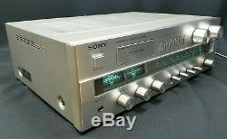 Sony Str-v3l Amplificateur De Travail Refurbished 1970 Récepteur Stéréo Tuner C / W Phono