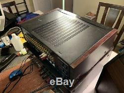 Sony Ta-n80es Amplificateur De Puissance Spontané Twin Drive & Ta-e2000esd Récepteur