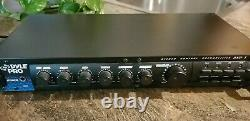 Système De Récepteur Audio Pré-amplificateur Pyle Rack Mount Studio Noir