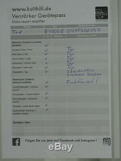 T + A Récepteur R 1200 R, Schwarz, Sehr Guter Zustand, 4378 / 0411s00137