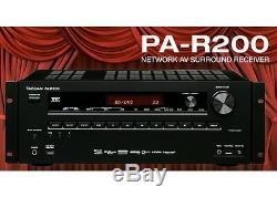 Tascam Pa-r200 Réseau Av 7.2 3d / 4k Récepteur / Préamplificateur / Rs232 Nouveau