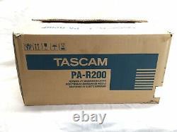 Tascam Pa-r200 Réseau Av 7.2 3d / 4k Récepteur / Préamplificateur (pas À Distance) Vidéo