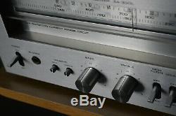 Technics Sa-300l Récepteur Stéréo Salut-fi Séparée Amplificateur Avec Étape Phono