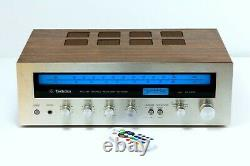 Technics Sa-5060 Fm-am Stereo Amplificateur, Conversion Led À Distance, Préampli Phono