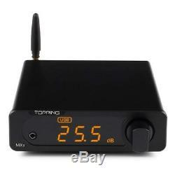 Topping Mx3 Ampli Numérique Dac Bluetooth Intégré Récepteur Casque Amplificateur