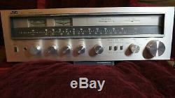 Très Rare! Vintage Jvc R-s7 Récepteur Stéréo Amplificateur / Tuner 1979