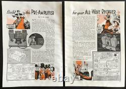 Tube Pré-amplificateur Récepteur All-wave Alimenté En 1936 Howto Construire Plans