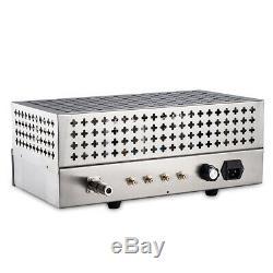 Vide Vintage Valve Tube Fm Stéréo Sans Fil Radio Récepteur Audio Préampli