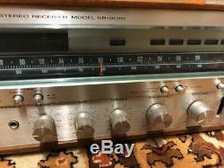 Vintage Kenwood Kr-8010 Amplificateur Récepteur Am / Fm Stéréo Made In Japan Amp