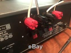 Vintage Nad 701 Récepteur Amplificateur Avec Commande À Distance De Travail Am / Fm