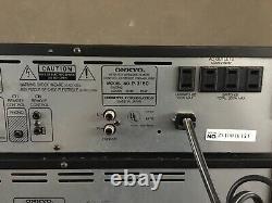 Vintage Onkyo P-3160 Pré-amplificateur Et M-5160 Amplifieur De Puissance R1