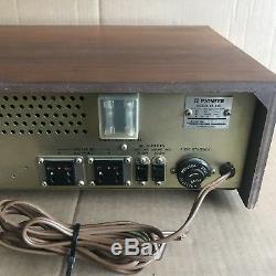 Vintage Pioneer Lx440 Récepteur Amp Lx440 Tuner Amplificateur Boîtier En Bois