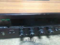 Vintage Rotel Rx-402 Récepteur Stéréo Am Fm Amplificateur Phono Bande Aux Quadrosound