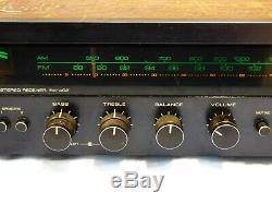 Vintage Rotel Rx-402 Salut Fi Amplificateur Récepteur Am Tuner Fm Corps En Bois Classique