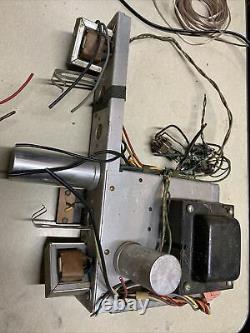 Webcor Model 2007 Stereo Tube Amplificateur Single Ended 6bq5 + MIC Preamp Section