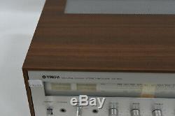 Yamaha Cr-400 Vintage Hi-fi Stéréo Intégré Amplificateur / Récepteur -classic Rétro