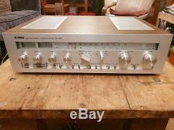 Yamaha Cr-820 Amplificateur Récepteur 1980 Phono Vintage Étape