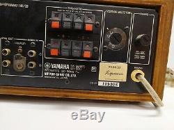 Yamaha Cr600 Vintage Récepteur Tuner / Amp Amplificateur Testé Fonctionne