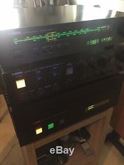 Yamaha M2 Amplificateur / C-4 Préampli / T-1 Tuner Composants Stéréo