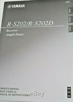 Yamaha R-s202 Récepteur Stéréo En Très Bon État (229 £) Sur Amazon