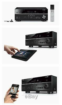 Yamaha Rx-v683bl 7.2 Canaux Musiccast Récepteur Av Avec Bluetooth